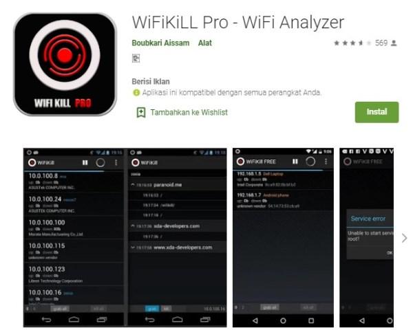 Aplikasi pembobol jaringan WiFi terkunci