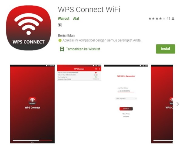 WPS Connect WiFi