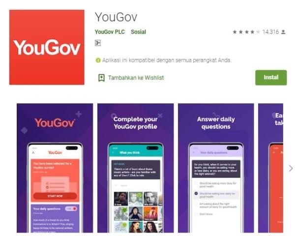 Apk survey online YouGov
