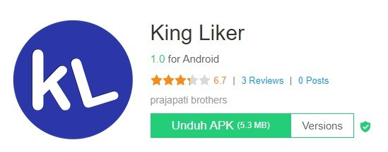 aplikasi auto like fb