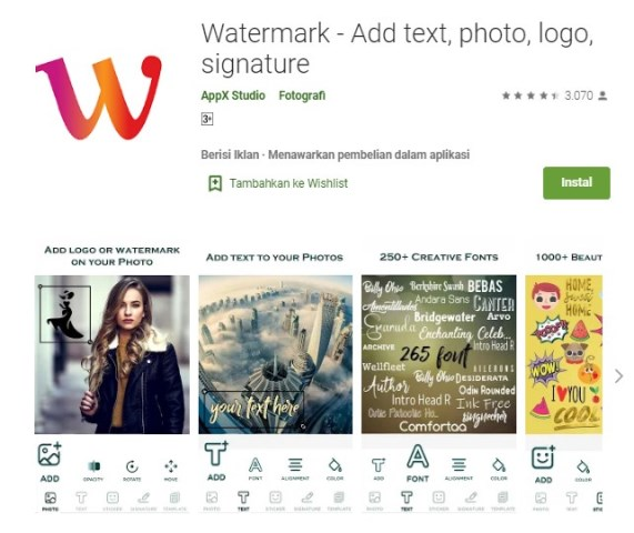Aplikasi Watermark
