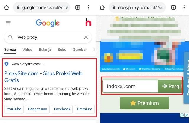 Cara membuka blokir video di Google Chrome