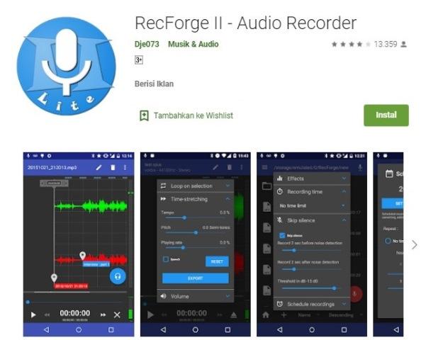 7 Aplikasi Perekam Suara Terbaik Dan Gratis Di Android Hallo Gsm