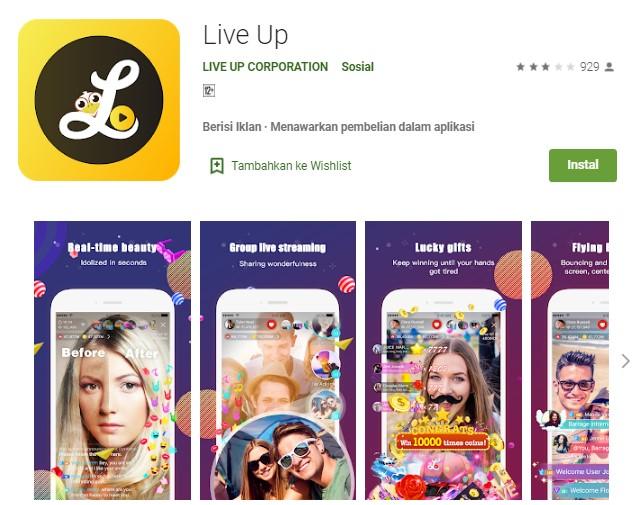 Aplikasi Live Up