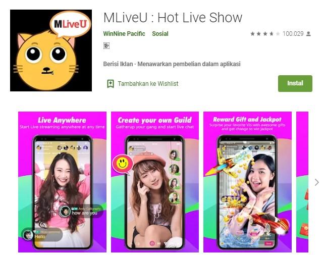 Aplikasi MLiveU