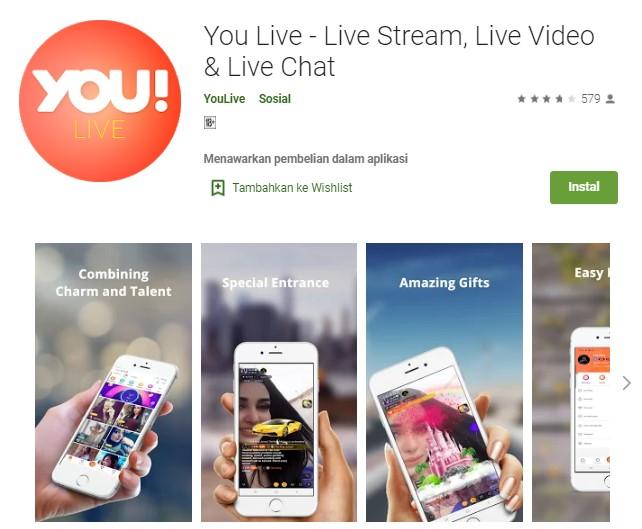 Aplikasi You Live