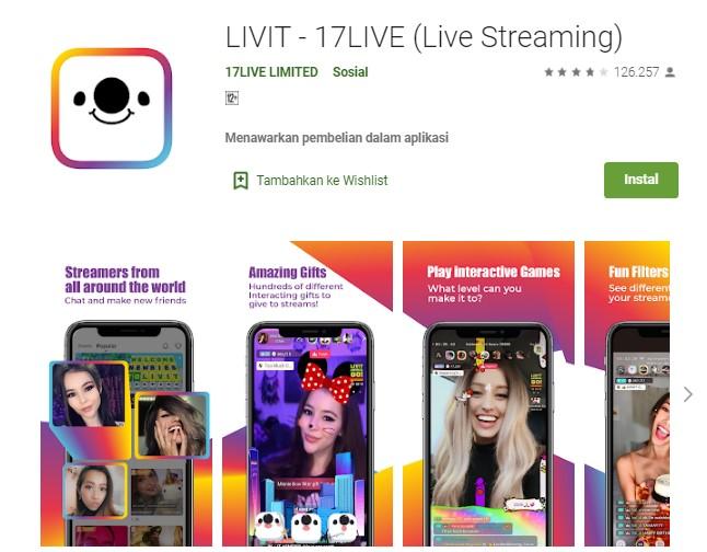 Aplikasi streaming China