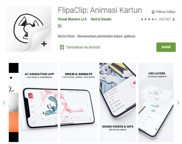 Aplikasi untuk membuat video animasi terbaik