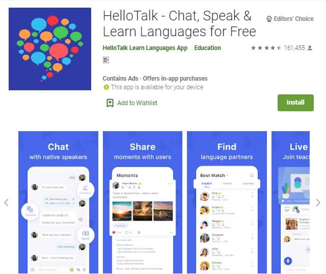 7 Aplikasi Chat Dengan Bule Untuk Belajar Bahasa Inggris Di Android Hallo Gsm
