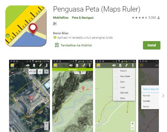 Penguasa Peta Maps Ruler