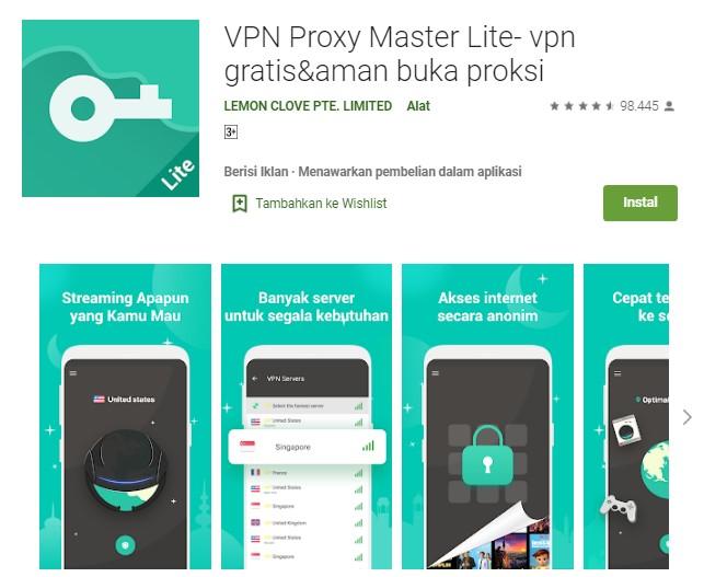 VPN Proxy Master Lite
