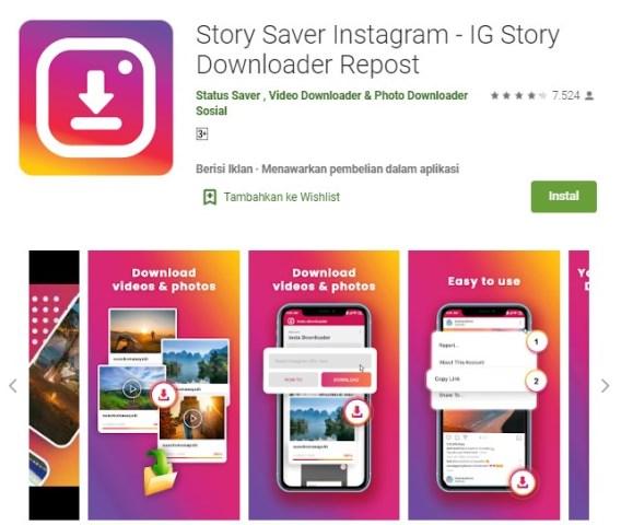 apk IG Story Downloader Repost