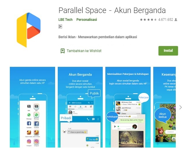 apk Parallel Space