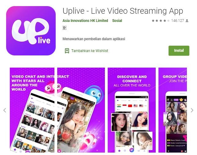 aplikasi Uplive