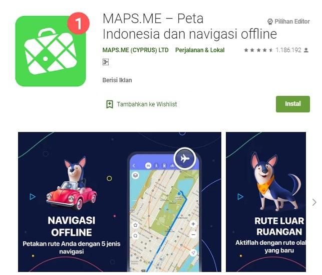 Aplikasi GPS Indonesia