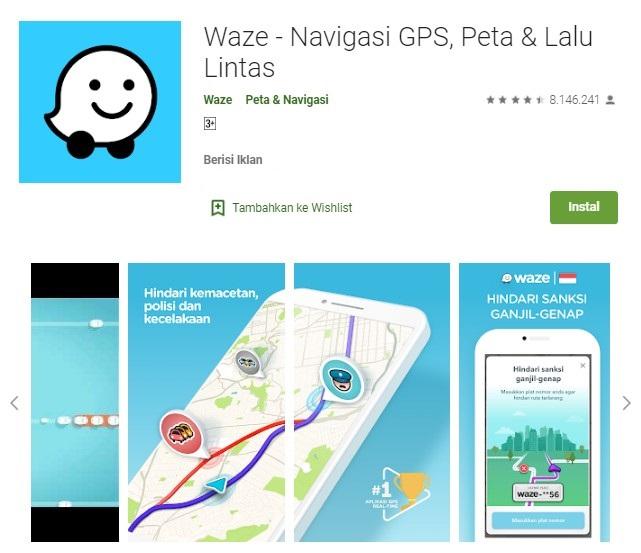 Aplikasi peta terbaik