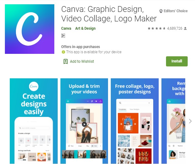 Canva Aplikasi Story Instagram Terbaru