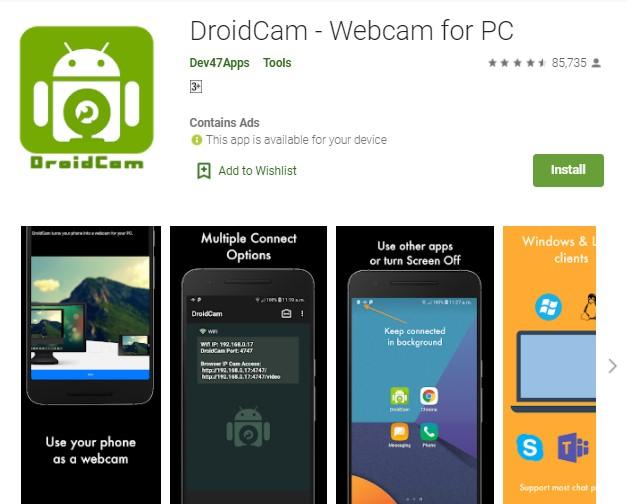 DroidCam