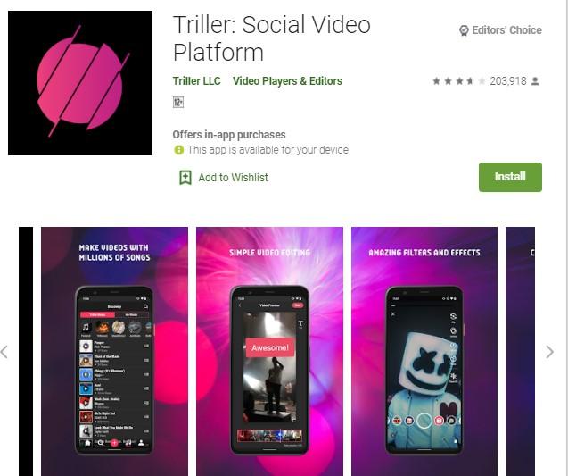 Triller Aplikasi Edit Video Quotes
