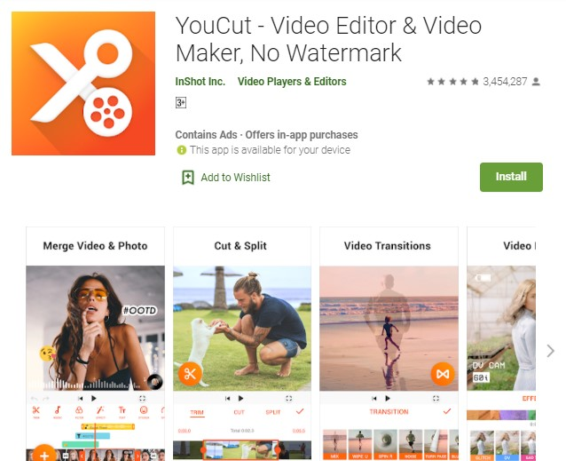 YouCut Video Editor Video Maker No Watermark