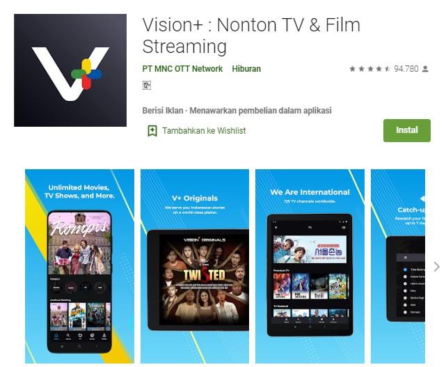 aplikasi nonton MNC TV