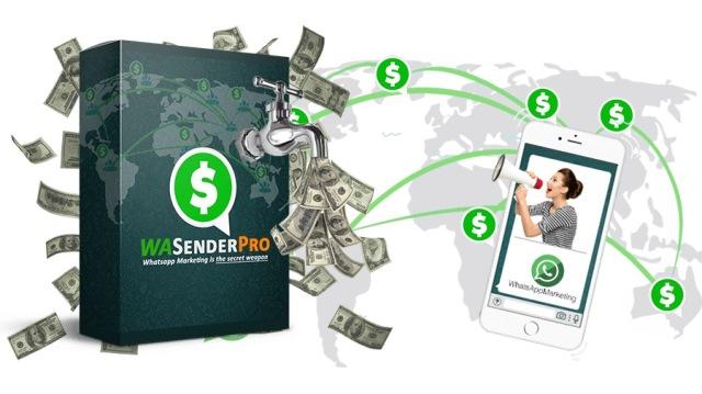 Aplikasi WA Sender Pro