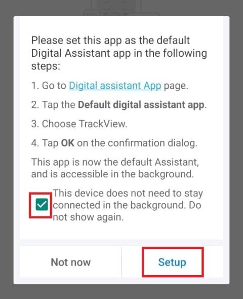 Cara memakai aplikasi TrackView