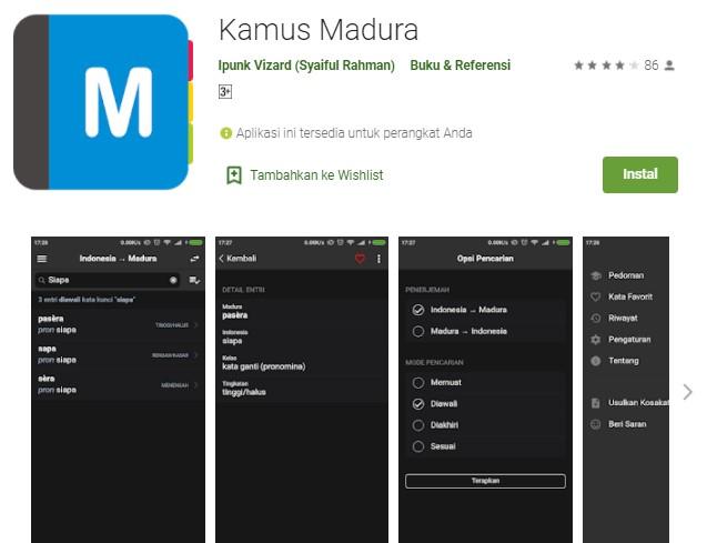 Kamus Madura by Ipunk Vizard Syaiful Rahman
