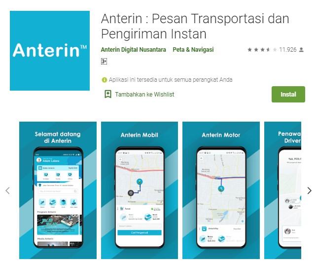 Aplikasi pesan taksi