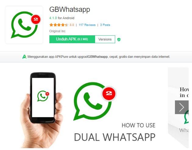 Aplikasi tema WA yang aman