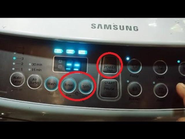 Cara reset mesin cuci Samsung tipe digital